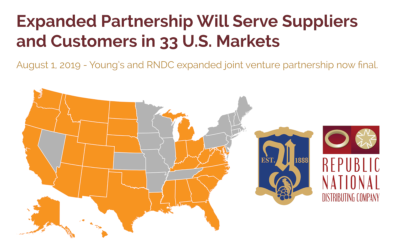 Young's Market Company and Republic National Distributing Company Expanded Partnership Now Final