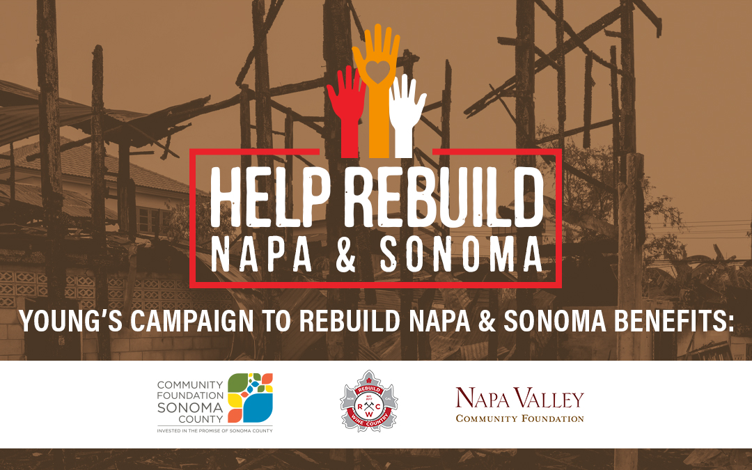 Young's Market Company Supports Napa and Sonoma Disaster Relief