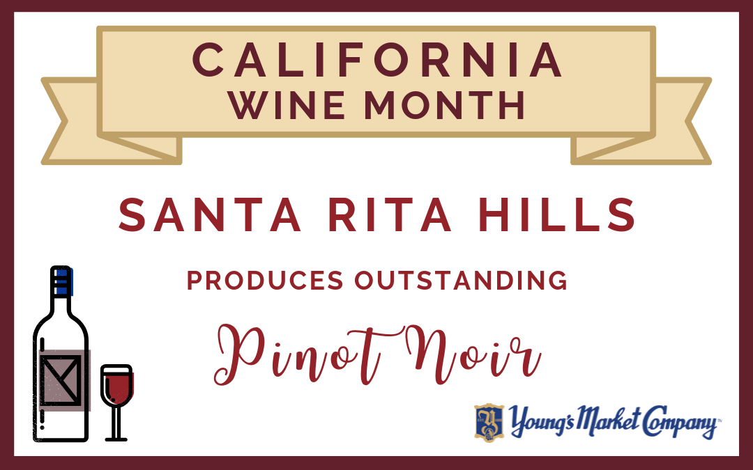 CA Wine Month: Santa Rita Hills Produces Outstanding Pinot Noir